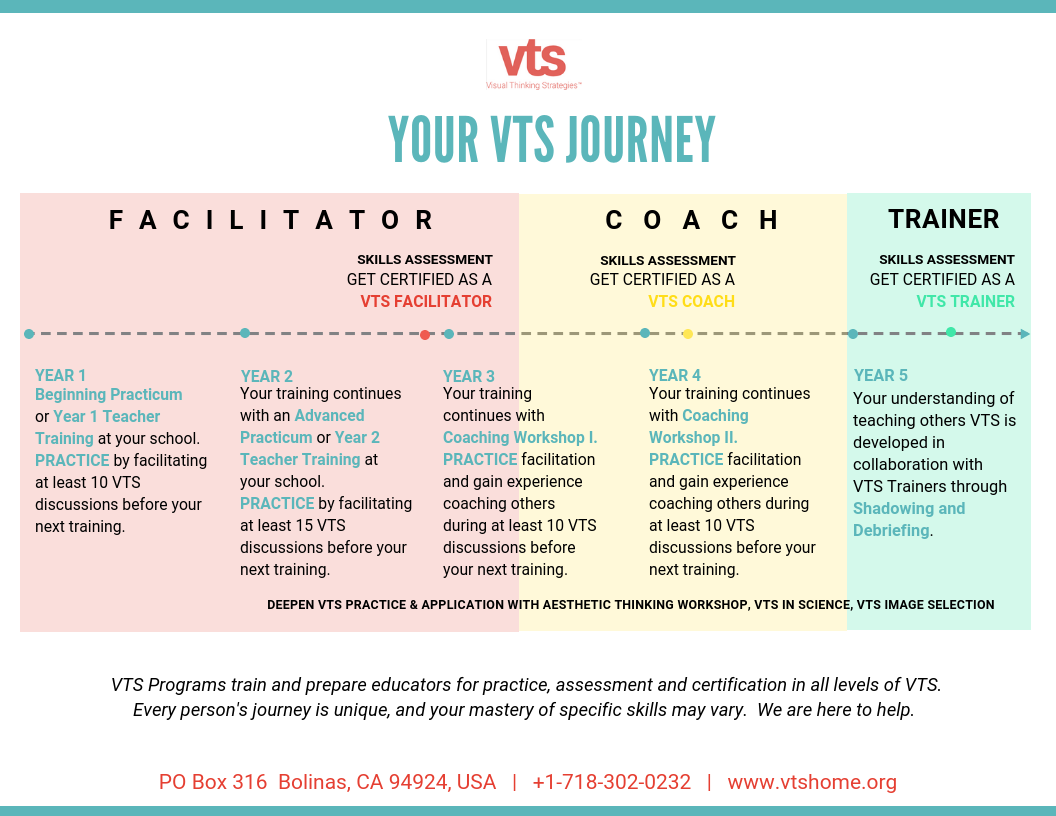 VTS Journey graphic